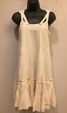 acc9027d6ab FILIPPA K Boho Chic 100% silk Dress Beige Size XS