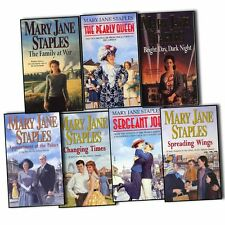 Mary Jane Staples Adams Family 7 Books Collection Spreading Wings Changing Times