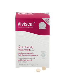 Viviscal Maximum Strength Hair Growth Supplement 180 Tablets (3 Months Supply)
