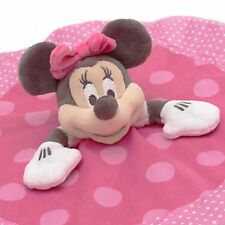 Minnie Mouse Disney Store Exclusive Girls Baby Comforter/Blankie NEW WITH TAGS
