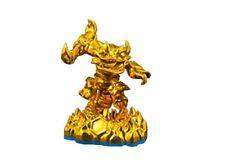 Excl. 2013 DEV Team Metallic Gold Fire Kraken Skylanders Swap Force Figure