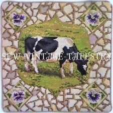 EHRMAN PANSY THE COW by KAFFE FASSETT - TAPESTRY NEEDLEPOINT KIT - DISCONTINUED