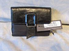 Kenneth Cole Reaction Womens Black Leather Bi-fold Wallet 189452/K08K New $45