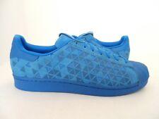 Adidas Originals Men's Superstar Xeno Reflective Shoes Blue Size 12