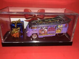 HOT WHEELS POPE DESIGNS KRINGLE DELIVERY VOLKSWAGEN DRAG BUS 17 Of 20!!!