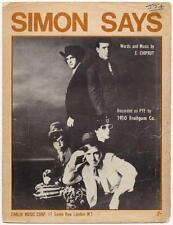 1910 Fruitgum Co. Simon Says 1967 Sheet Music