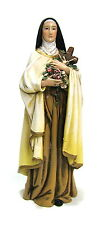 Statue St Therese Lisieux 6 inch Painted Resin Figurine Patron Joseph Catholic