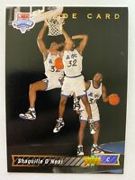 1992-93 Upper Deck Trade Rookie SHAQUILLE O'NEAL #1b, Magic RC    Qty. Available