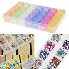 28 Slots Electronic Parts Jewelry Bead Storage Box Crafts Organizer Containers