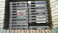 Nintendo NES Lot Of 20 Games - Mutant Ninja Turtles, Super Mario Bros. and More