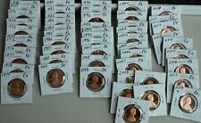 1968 through 2018 Proof Lincoln One Cent 54 Coin Penny Lot 1c Collection
