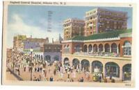 Postcard England General Hospital Atlantic City NJ 1945