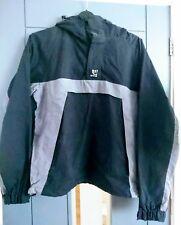 Animal hooded jacket mens S black and grey