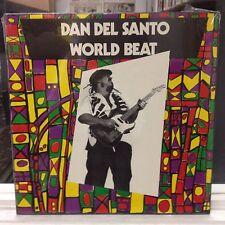 SEALED LP~DAN DEL SANTO~World Beat~[OG 1985 PLEASURE Issue]~w~ERIC JOHNSON~