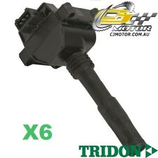 TRIDON IGNITION COIL x6 FOR Alfa Romeo 166 05/01 01/09 V6 3.0L