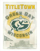 Green Bay Packers - Titletown - poster print
