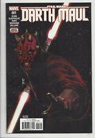 STAR WARS DARTH MAUL #1 (2nd PRINT) VARIANT Darth Vader Marvel 2017 NM- NM