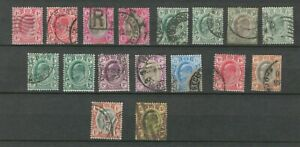 TRANSVAAL BRITISH COLONIES  POSTAL USED REVENUE STAMPS XXX  LOT (BRCOL 90)