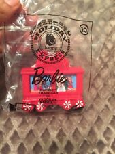 McDonald's 2017  Holiday Express Happy meal toy #10 BARBIE TRAIN CAR- New!!