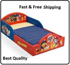 Paw Patrol Toddler Bed Frame Sleep Play Nick Jr. Kids Bedroom Furniture Plastic