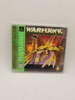 Warhawk PlayStation 1 PS1 Game Complete CIB GH Short Case Variant Version ! RARE