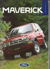 FORD MAVERICK GLS SWB 3-DOOR AND GLS LWB 5-DOOR SALES BROCHURE OCT.1996 FOR 1997
