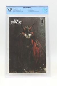 King Spawn (2021) #1 Puppeteer Lee Cover A CBCS 9.8 Blue Label White Pages