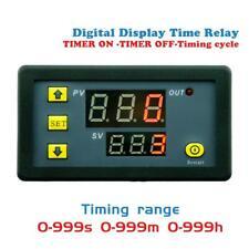 Dc 12v 20a Timing Delay Relay Module Cycle Timer Led Digital Dual Display 0 999h