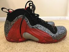 Nike Air Flightposite Exposed Zebra, 616765-001, Men's Basketball Shoes, Size 10