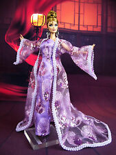 Eaki Lavender Coat Outfit Gown Dress Silkstone Barbie Fashion Royalty FR Poppy