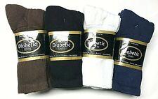 12 Pair Non-Binding Top DIABETIC Mixed Colors Crew Sock Size10-13,  USA .