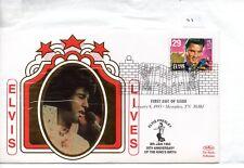 Elvis Presley (01) FDC - United States - 58th Anniv of birth - Benham cover