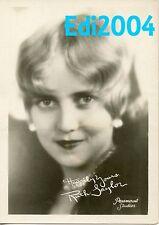 RUTH TAYLOR Vintage Original FAN PHOTO Facsimile Autograph PHOTO Double-Weight