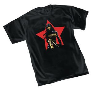 DC Comics Dark Knight 3 Master Race Men's Wonder Woman Stars T-shirt XL X-Large