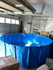 """Foldable Round Koi Show Tank For Indoor & Outdoor Pond ( 118"""" x 39.4"""" )"""