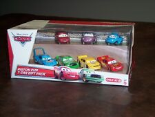 DISNEY - CARS- PISTON CUP - 7 CAR GIFT PACK - TARGET STORE EXCLUSIVE - NEW