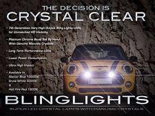 4300K White LED Driving Light Fog Lamp Kit for BMW Mini Cooper /S Bumper Grille
