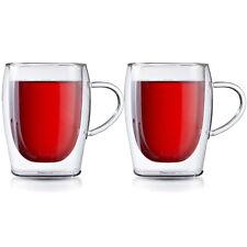Boral Doppelwandige Gläser / Teegläser / Thermogläser / Teetassen 2er Set 300 ml