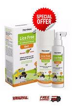 FREZYDERM LICE FREE SET Shampoo 125ml + lotion 125ml + hair brush