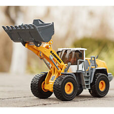 1/50 Scale Diecast Wheel Loader Large Forklift Truck Construction Vehicle Model
