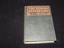 Vintage Book, THE BENSON MURDER CASE:PHILO VANCE STORY,SS VAN DINE,Mystery, 1926