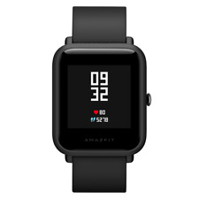 mi Huami Amazfit Bip IP68 GPS Smart Watch Heart Rate Sleep Monitor - Black