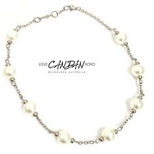 Pearl Classy Necklace Choker Bridal Layering Woman's Evening Wear