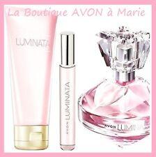 SET Perfume LUMINATA + vapo Bag + MILK BODY AVON NEW
