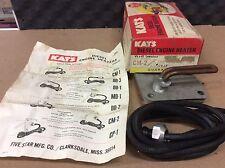 NOS NEW KAT'S DIESEL ENGINE HEATER CM-2 WITH 120V 1500 WATTS