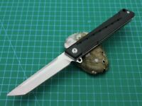 New CNC Assisted Opening D2 Steel Blade G10 Handle Pocket Folding knife DF166