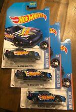 Hot Wheels - '96 NISSAN 180SX TYPE X - HW RACE TEAM 5/5 - lot of THREE
