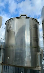 5000 litres Storage tank, mixing tank, stainless steal