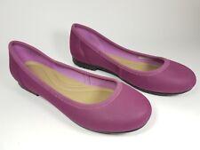 Crocs purple flat shoes uk 4.5 super condition