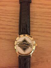Vintage Music Stuff Wristwatch 1997 TRUMPET  Black Leather Band